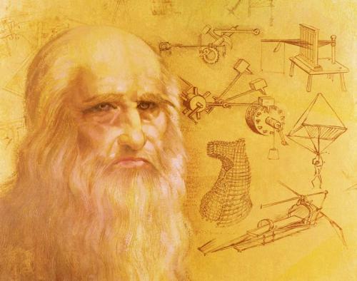 Léonard de Vinci-  Clos Lucé d'Amboise